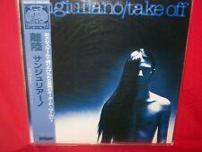 SANGIULIANO Take off LP 1987 JAPAN + OBI + Inner IT Prog Moog MINT