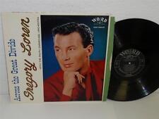 GREG LOREN Across The Great Divide LP Word W-3177 mono album w/ Ralph Carmichael