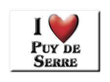 MAGNETS FRANCE - HAUTE NORMANDIE SOUVENIR AIMANT I LOVE PUY DE SERRE (VENDÉE)
