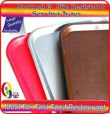 Fast FOOD servizio normale & Slip resistenza VASSOIO / RISTORANTE, BAR, CAFE ALIMENTI BEVANDE