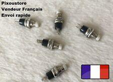 Mini Bouton Poussoir Interrupteur blanc NO Pour Voiture maquette Lot choix 7-20