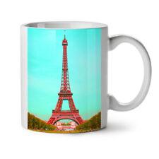 Moda di Parigi foto Park Nuova Tazza da Caffè Tè Bianco 11 OZ (ca. 311.84 g) | wellcoda