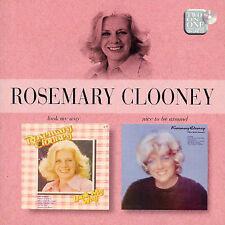 Rosemary Clooney 2 LP's 1 CD Look My Way 7 Nice To be Aroud LIKE NEW 2002 EMI