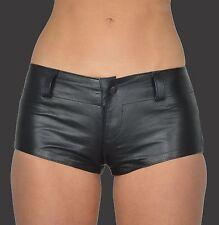 AW-162 Damen Hot pants,Hüft Hose ledershorts,Mini Shorts,leder Shorts,Kurze Hose