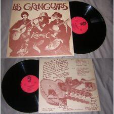 Los Gringuitos - Karantec LP Rare French Folk fusion 79