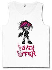 Punk Bitch Tank Top giana? s game Gothic Cute giana nerd Girl Sisters tatuaje