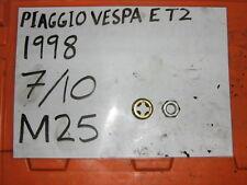 Piaggio Vespa ET2 Rueda Delantera Tuerca y bloqueo de la PAC