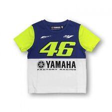 Nuevo Oficial Valentino Rossi VR46 2016 DUAL YAMAHA Niños Camiseta - ydkts
