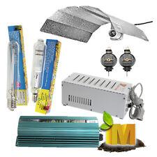 250-1000w Hydroponics Grow Light Kit HPS MH Bulb Magnetic digital ballast Shade