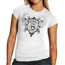 Pittsburgh Penguins Reebok NHL Women's Team Queen White Baby Doll T-Shirt