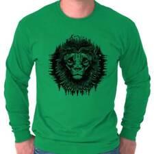 Spirit Lions Mane Shirt | Mystic Wolf Tarot Cards Illuminati Long Sleeve T Shirt