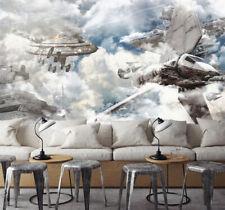 3D Aircraft, cloud 656 Wall Paper Print Wall Decal Deco Indoor Wall Murals
