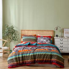 Printed Duvet Cover Bedding Set Comforter Quilt Pillowcase Twin Queen King Size