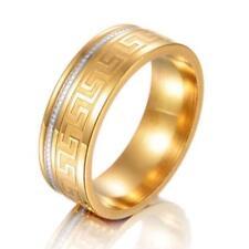Herrenring 750er Gold 18Karat vergoldet gelbgold R2557