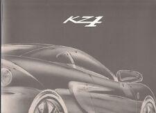Ascari KZ-1 5-Litre V8 2001 UK Market Preview Foldout Sales Brochure