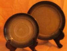 Hoganas Keramik Brown Salad Plate ~ Sweden