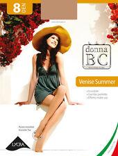 ★ BC Donna 6 Collant B.C. VENISE SUMMER 8 Den invisibile estivo effetto make-up★