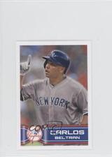 2014 Topps Album Stickers #26 Carlos Beltran New York Yankees Baseball Card