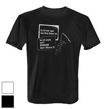 Wo ich angle läuft... Herren T-Shirt Fun Shirt Angeln Angler Geschenk Fischen
