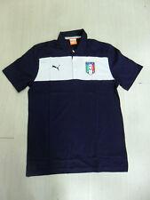 10104 ITALIE PUMA PUMA ITALIE POLO BLEU REPRÉSENTATION OFFICIAL PO
