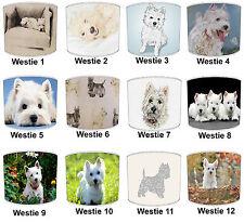 West Highland Terrier Paralumi Ideale Da Abbinare West Highland Terrier cuscini.