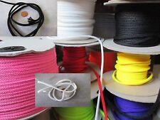 5m 10m 25m 100m Kordel Anorakkordel 3-4mm Polyester EUR 0,20-0,30 per Meter