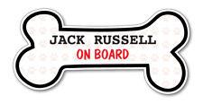 Funny Dog Bone- JACK RUSSELL on Board Vinyl Car Decal Sticker Pet Lover