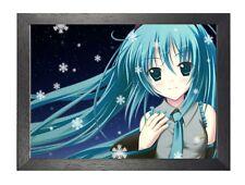 Hatsune Miku 1 Vocaloid Anime Manga Japonés cartel de imagen