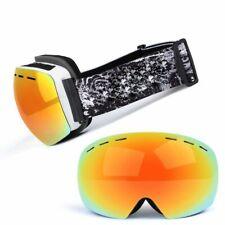 Snowboard Eyewear Men Ski Goggles Protection UV400 Anti-fog Windproof Glasses