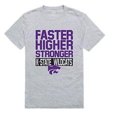 Kansas State University Wildcats NCAA Workout T-Shirt S-2XL