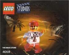 LEGO STUDIOS - CAMERAMAN 1 POLYBAG FIGURE + FREE GIFT - ULTRA RARE - SEALED