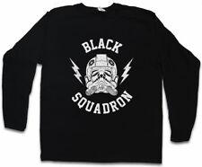 BLACK SQUADRON VINTAGE II LONG SLEEVE T-SHIRT Star Tie Pilot Imperial Wars