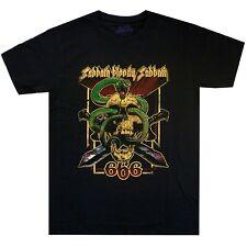 Black Sabbath Bloody 666 Shirt S-3XL Heavy Metal Band T-Shirt Official Tshirt