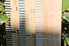 Kids Growth Height Chart Ruler Gender Neutral Children Room Wooden Wall Hanging