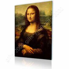 CANVAS (Rolled) Mona Lisa Leonardo Da Vinci Painting Oil Paintings Prints Art
