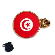 TUNISIA TUNISIAN FLAG ENAMEL LAPEL PIN BADGE GIFT