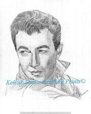 Actor Robert Taylor RARE StKenan Art Chicago Artist Print of 1940 Original