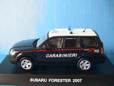 SUBARU FORESTER 2007 CARABINIERI DEAGOSTINI 1/43 ITALIE ITALY ITALIA POLICE