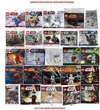 LEGO-FULL RANGE di Star Wars Figura POLYBAGS + Regalo-Scelta Multipla-SIGILLATO