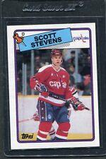 1988 Topps Scott Stevens #60 Mint