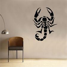 Scorpion Wall Sticker Art Kids Girls Riding Room Insect Animal (AN43)