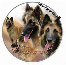 Aufkleber Motiv 2 Tervueren Belgischer Schäferhund Autoaufkleber Sticker