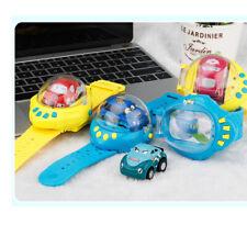 Mini Cartoon RC Car  Remote Control Watch Car with Gravity Sensor Kids Toy