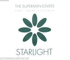 THE SUPERMEN LOVERS ft MANI HOFFMAN - Starlight (UK 3 Trk CD Single)