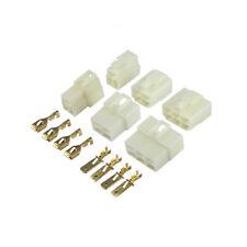 1-21 Way Pin 6.3mm Car Electrical Wire Plug Jack Connector Terminal Block Kits