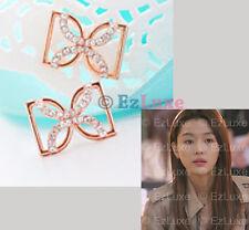 Korean Drama MY LOVE FROM THE STAR Jeon Jun Ji-Hyun Butterfly DD Ribbon Earrings