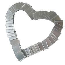 100 feuilles bricolage carré miroir décoratif Wall Sticker Art Decal