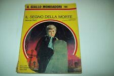 IL GIALLO MONDADORI-N. 1103-GEORGE BAXT-IL SEGNO DELLA MORTE-22 MARZO 1970