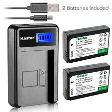 Kastar Battery and LCD Slim USB Charger for Samsung BP-1310 1310 NX100 NX20 NX5