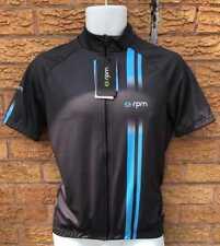 RPM SSJ60 Sportive Fit Uomo Ciclismo Maniche Corte Jersey MADE IN ITALY GRIGIO BLU
